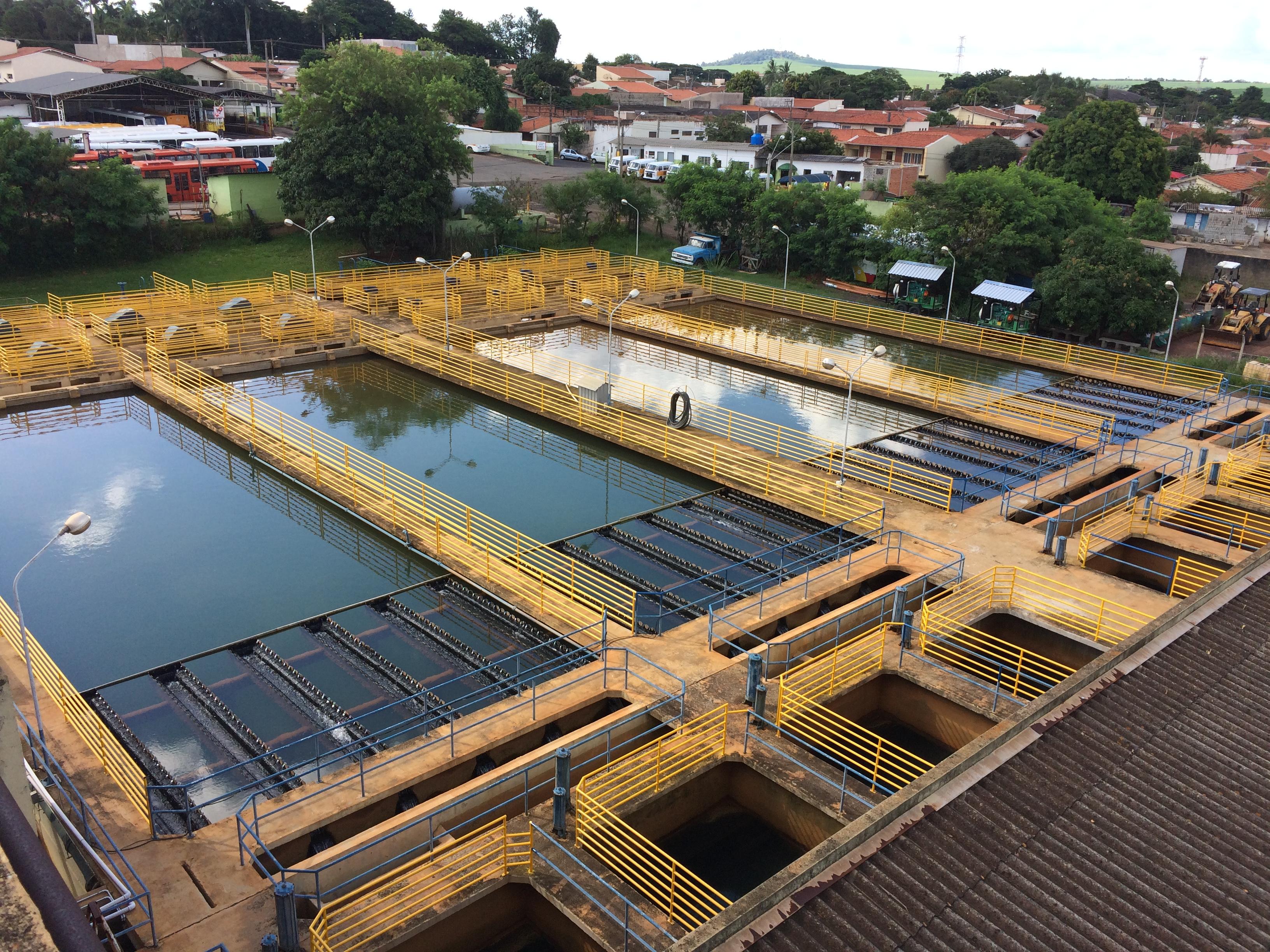 Obra: reforma da Estação de Tratamento de Água