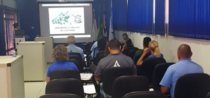 Membros da CIPA do Saema participam de treinamento