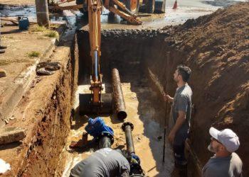 Válvulas começam a ser instaladas no município para melhorar o abastecimento de água