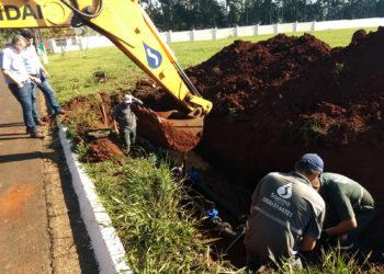 Parque Terras de Santa Olívia recebe obra para melhoria no abastecimento de água