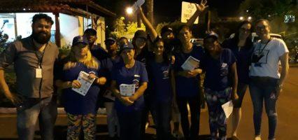 Cooperativa Araras Limpa e Saema promovem ação de conscientização sobre lixo reciclável